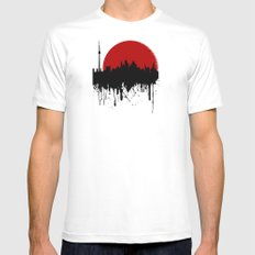 Cityline SMALL Mens Fitted Tee White