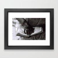 Líneas De Sabiduría (L… Framed Art Print