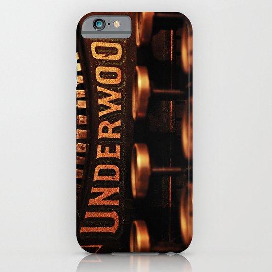 Underwood No. 5 iPhone & iPod Case