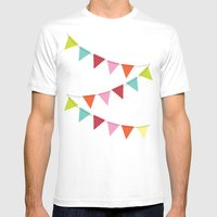 Hooray For Girls! Mens Fitted Tee White SMALL