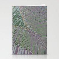 Trippy Pastel Palm Stationery Cards