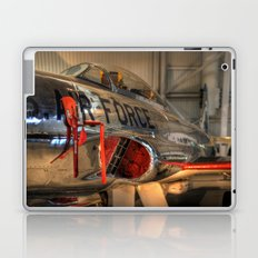 1960's Training Jet. Chrome Plated! Laptop & iPad Skin