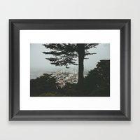 Buena Vista Park, San Francisco Framed Art Print