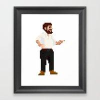Bearded Chief Framed Art Print