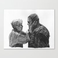 Jason and Mrs Voorhees Canvas Print