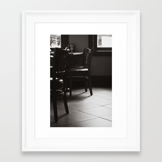 Please be Seated Framed Art Print