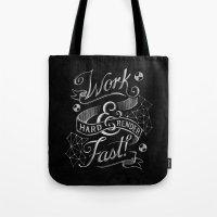 Work Hard & Render Fast! Tote Bag