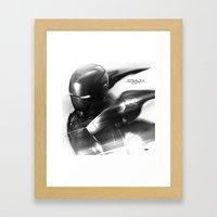Mark 7 Stealth Framed Art Print