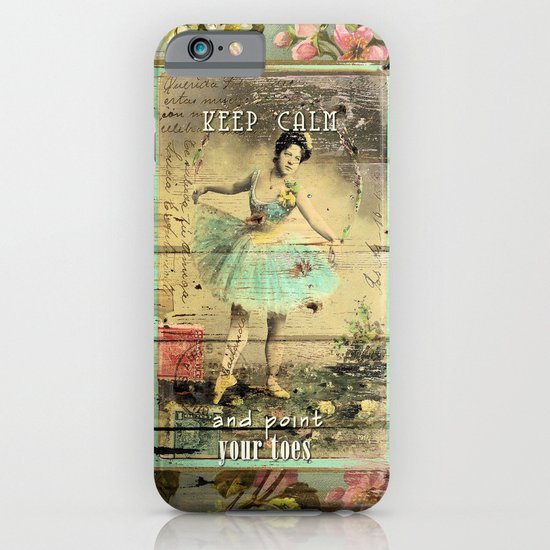 KEEP CALM - and point your toes iPhone & iPod Case