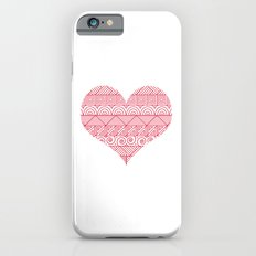 Patterned Valentine iPhone 6s Slim Case
