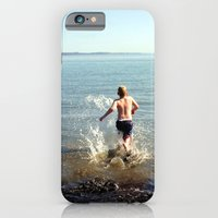iPhone & iPod Case featuring Into the drink by NoelleB