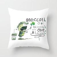 Ode Throw Pillow