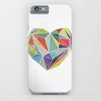 iPhone & iPod Case featuring Heart Graphic 5 by Mareike Böhmer Graphics