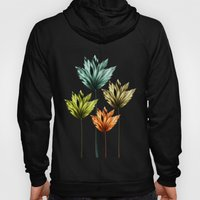 Four Fractal Flowers Hoody