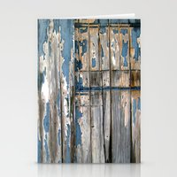 the barn door  Stationery Cards
