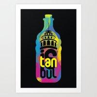 istanbul cmyk Art Print