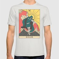 DOOM Mens Fitted Tee Silver SMALL