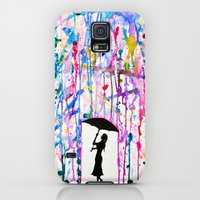 Galaxy S5 Cases featuring Deluge by Marc Allante