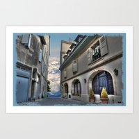 Far Beyond The Street Art Print