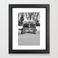 Sitting Quietly  Framed Art Print