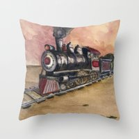 Southwest Journey Throw Pillow