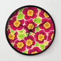 Primrose Collection 3 Wall Clock