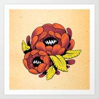 Grim Blossom Art Print