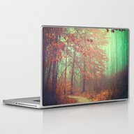 Laptop & iPad Skin featuring Autumn Forest by Olivia Joy StClaire