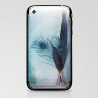 Peacock Blue iPhone & iPod Skin