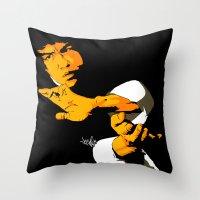 Dragon Season Throw Pillow