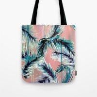 Pink Tropical Haze Tote Bag