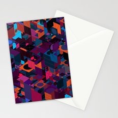 Panelscape: colours from Circles  Stationery Cards