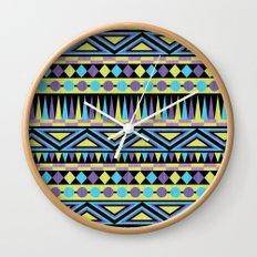 Pattern Playtime Wall Clock