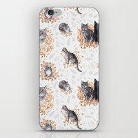 Le Chat Toile de Jouy iPhone & iPod Skin