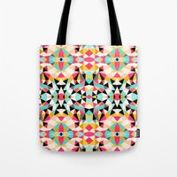 Kawaii Tribal Tote Bag