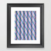 Isometric Harlequin #2 Framed Art Print
