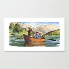 Snake River Canvas Print
