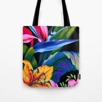 Let's Go Abstract Tote Bag