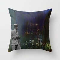 Death Of Detroit - Ford Throw Pillow