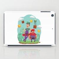 Mario And Luigi! iPad Case