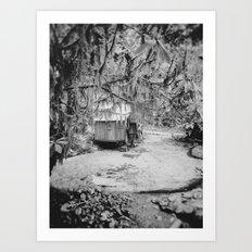 Water Wheel #1 Art Print