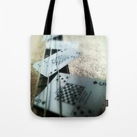 Bass Cards  Tote Bag