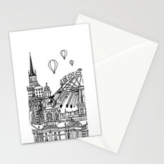 STHLM Silhouettes II Stationery Cards