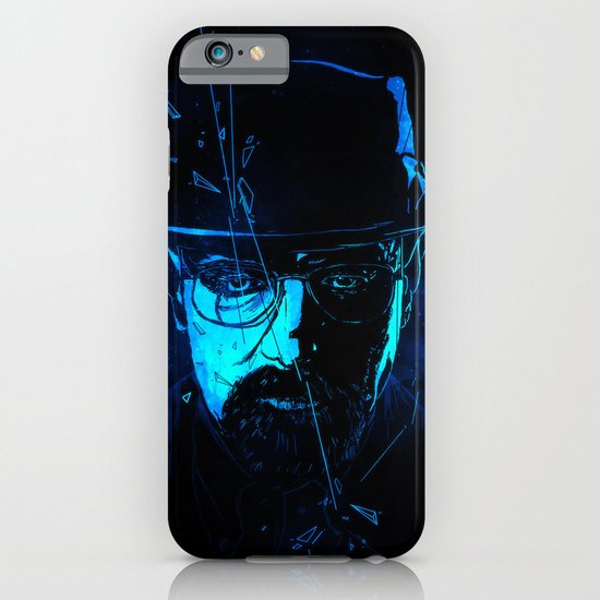 Mr. White (Crystal Blue) iPhone & iPod Case
