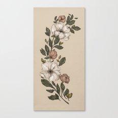 Floral Laurel Canvas Print