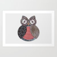 OWL #4 Art Print