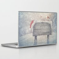 Winter Wonderland Birds  Laptop & iPad Skin