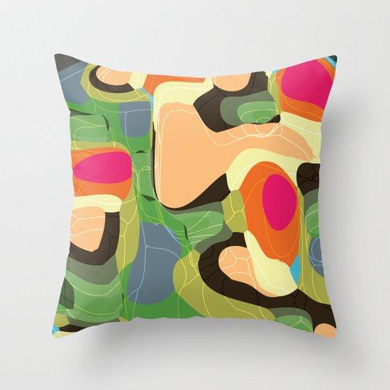 Topic Tropic Throw Pillow