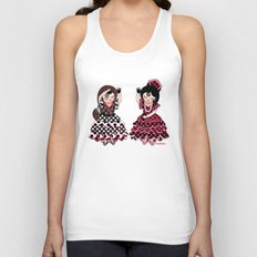 Flamenco Unisex Tank Top