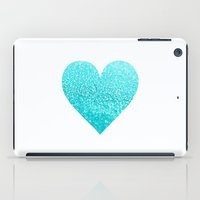 AQUA HEART iPad Case